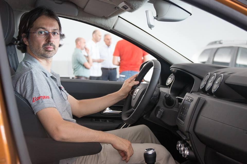 Interiror Dacia Duster